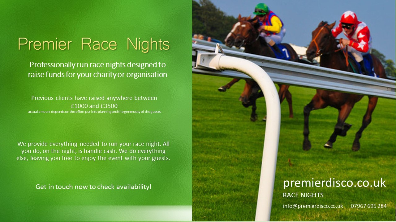 Race Night Information